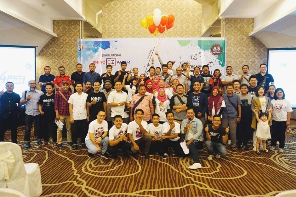 Launching Produk Rhino EZ Paper
